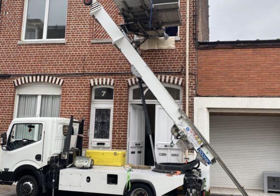 Prestation monte meubles à Lille