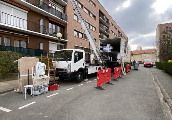 Location nacelle monte meubles Douai